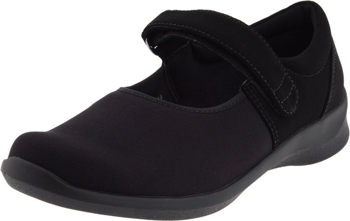 Aetrex Womens Helen Stretch Mary Jane dress shoes