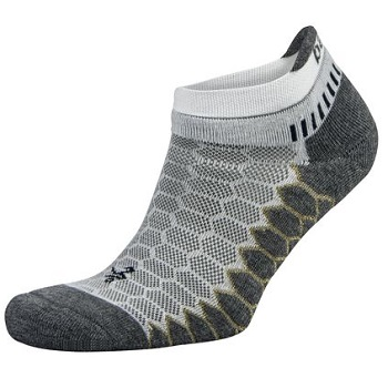 Balega Silver Antimicrobial No-Show Compression-Fit Running Socks