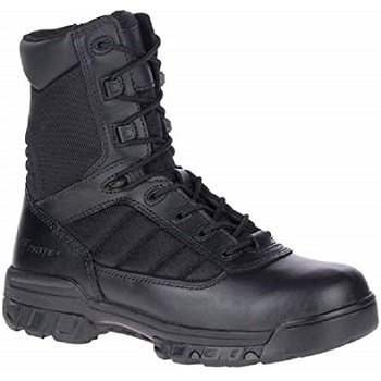 "Bates Men's 8"" Ultralite Tactical Sport Dryguard Wp Side Zip Military Boot"