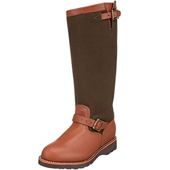 "Chippewa Men's 17"" Pull-On 23913 Snake Boot"