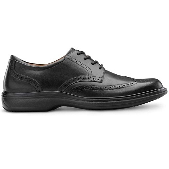Dr. Comfort Men's Therapeutic Extra Depth Leather Dress Shoe