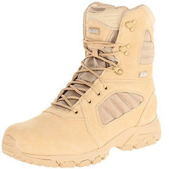Magnum Men's Response III 8.0 Side-Zip Slip Resistant Work Boot