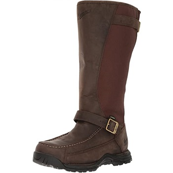 "Men's Sharptail Snake Boot 17"" Dark Brown Hunting Boot"