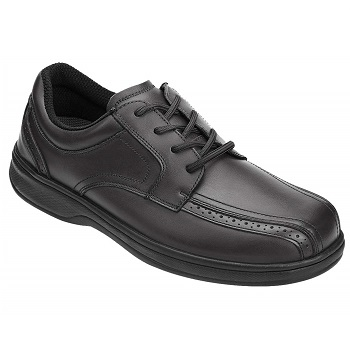 Orthofeet Men's Oxford Shoes Proven Relief for Plantar Fasciitis
