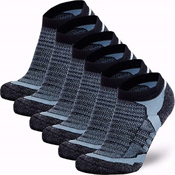 Pure Athlete Merino Wool Socks Moisture Wicking