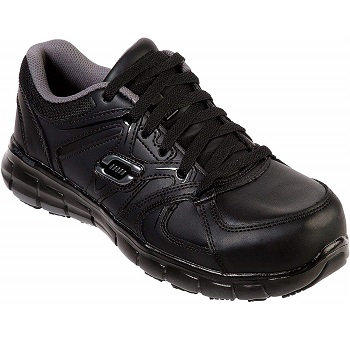 Skechers for Work Women's Synergy Sandlot Alloy Toe Lace-Up Work Shoe