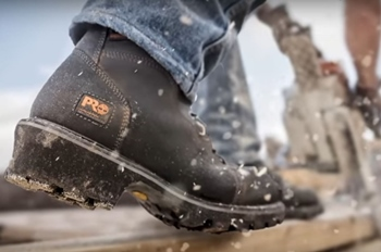 Slip Resistant Work Boots for Flat Feet