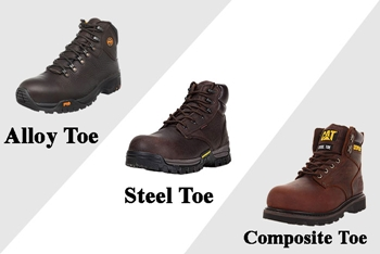 Steel-Toe vs. Composite-Toe vs. Alloy-Toe