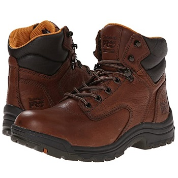 "Timberland Women's Pro Titan 6"" Soft Toe Work Boots"