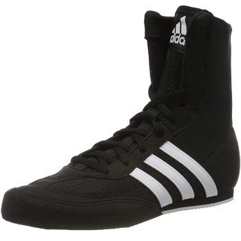 Adidas Box Hog 2 Mens Boxing Shoes - Black