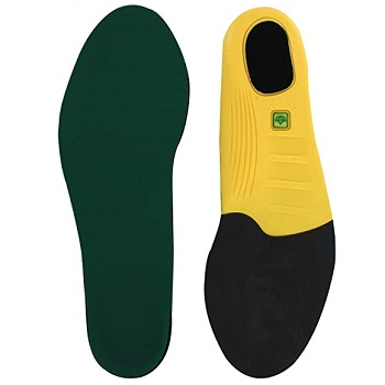 Spenco Polysorb Cross Trainer Arch Support Shoe Insoles