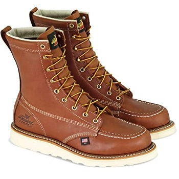 "Thorogood Men's American Heritage 8"" Moc Toe - Safety Toe"